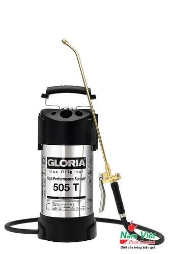 Bình xịt hóa chất đeo vai Gloria 505T - Nhập khẩu từ Đức