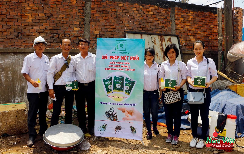 Diệt ruồi tại Công ty Kwong Lung - Meko sau vụ hỏa hoạn