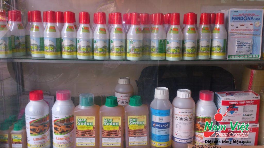 Tổng hợp các loại thuốc diệt mối hay sử dụng